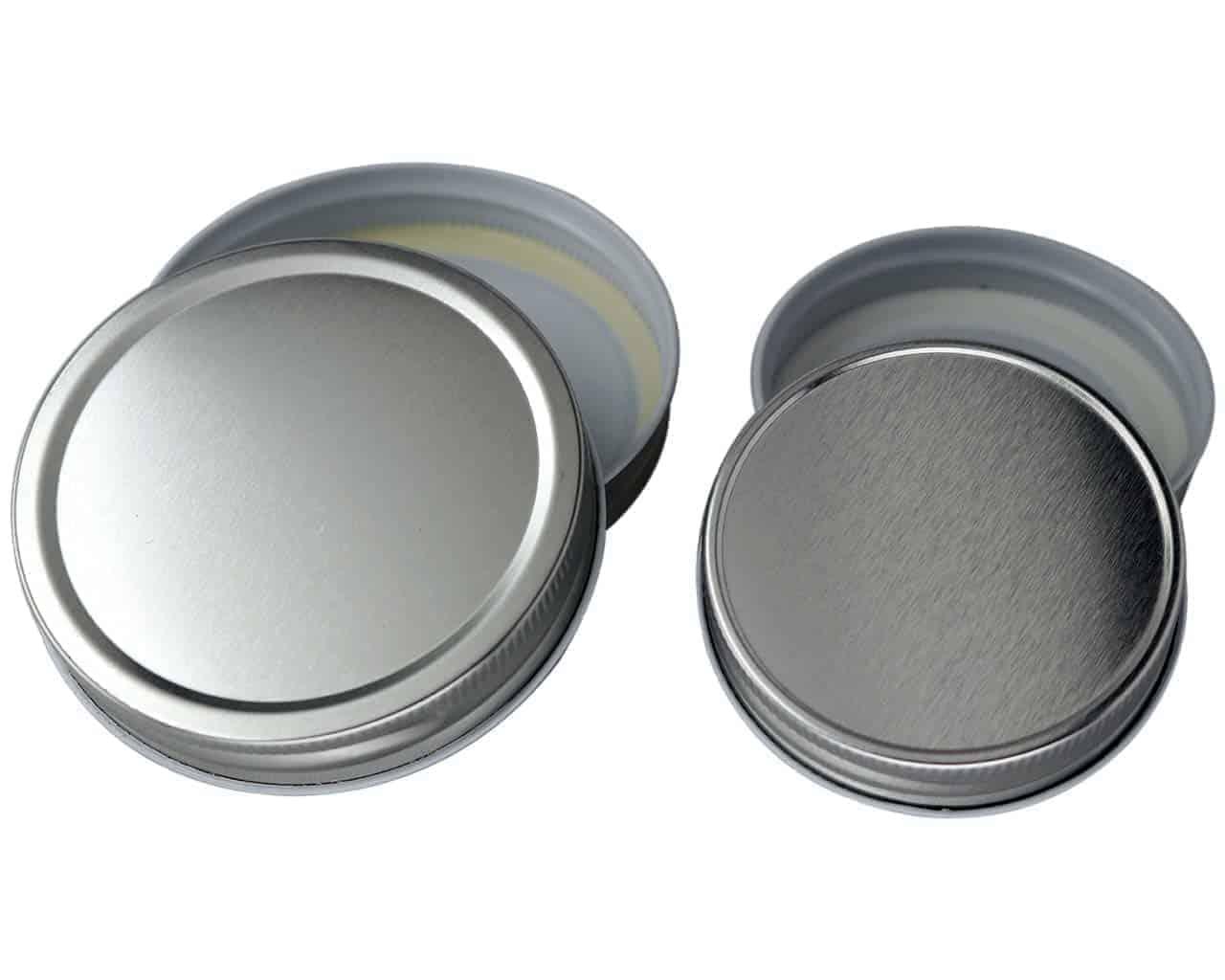 Split-Type Lids Sealing Storage Solid Caps For Regular//Wide Mouth Jar Mason O6I7