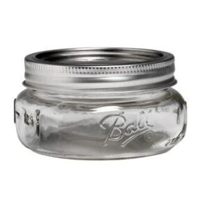 Ball Collection Elite Wide Mouth Half Pint 8oz Mason Jar