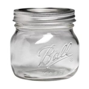 Ball Collection Elite Wide Mouth Pint 16oz Mason Jar