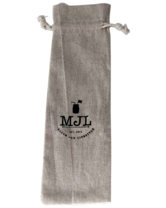 Cloth bag for storing reusable glass and metal straws