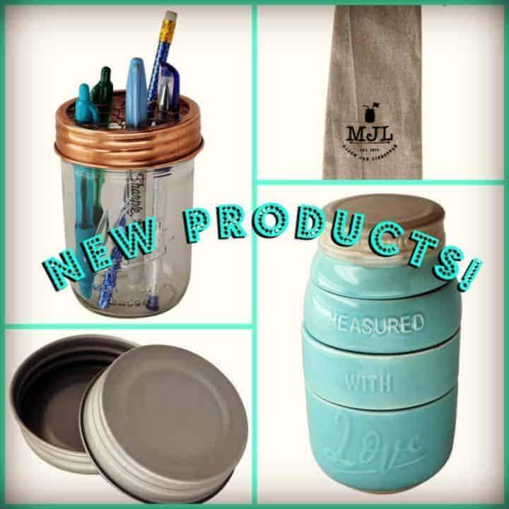 Mason Jar Lifestyle New Products
