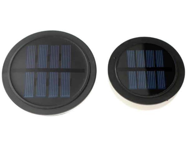 Solar light lids for regular and wide mouth Mason jars tops