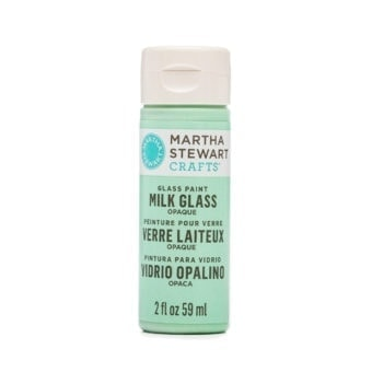 Martha Stewart Green Milk Glass Paint
