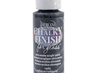 Americana Chalky Finish Paint for Glass Mason Jars
