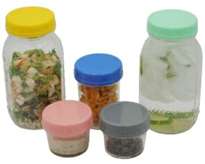 10-colors-polka-dot-straw-hole-tumbler-lids-regular-mouth-mason-jars