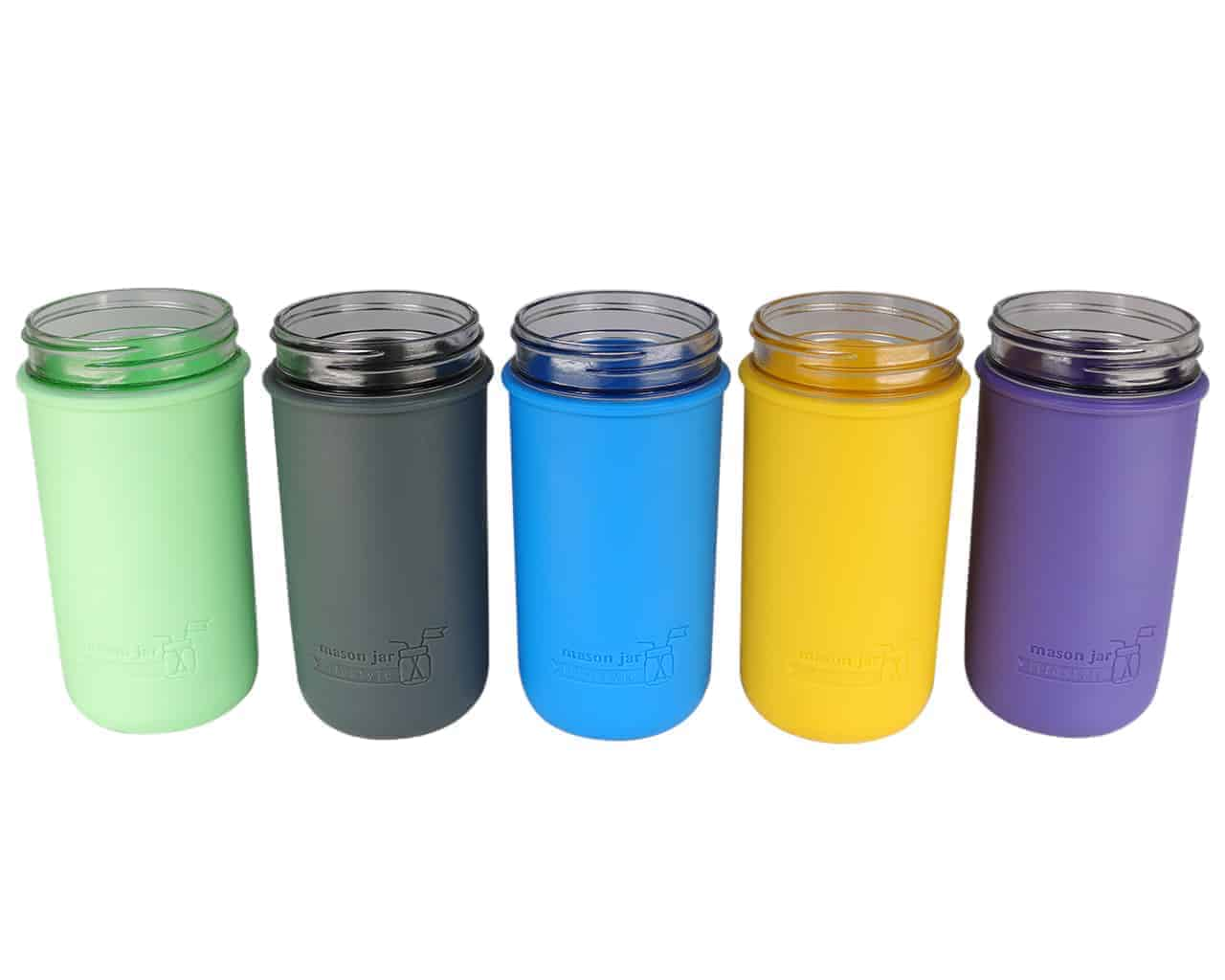 Silicone Sleeve For Pint Amp Half Ball Mason Jars