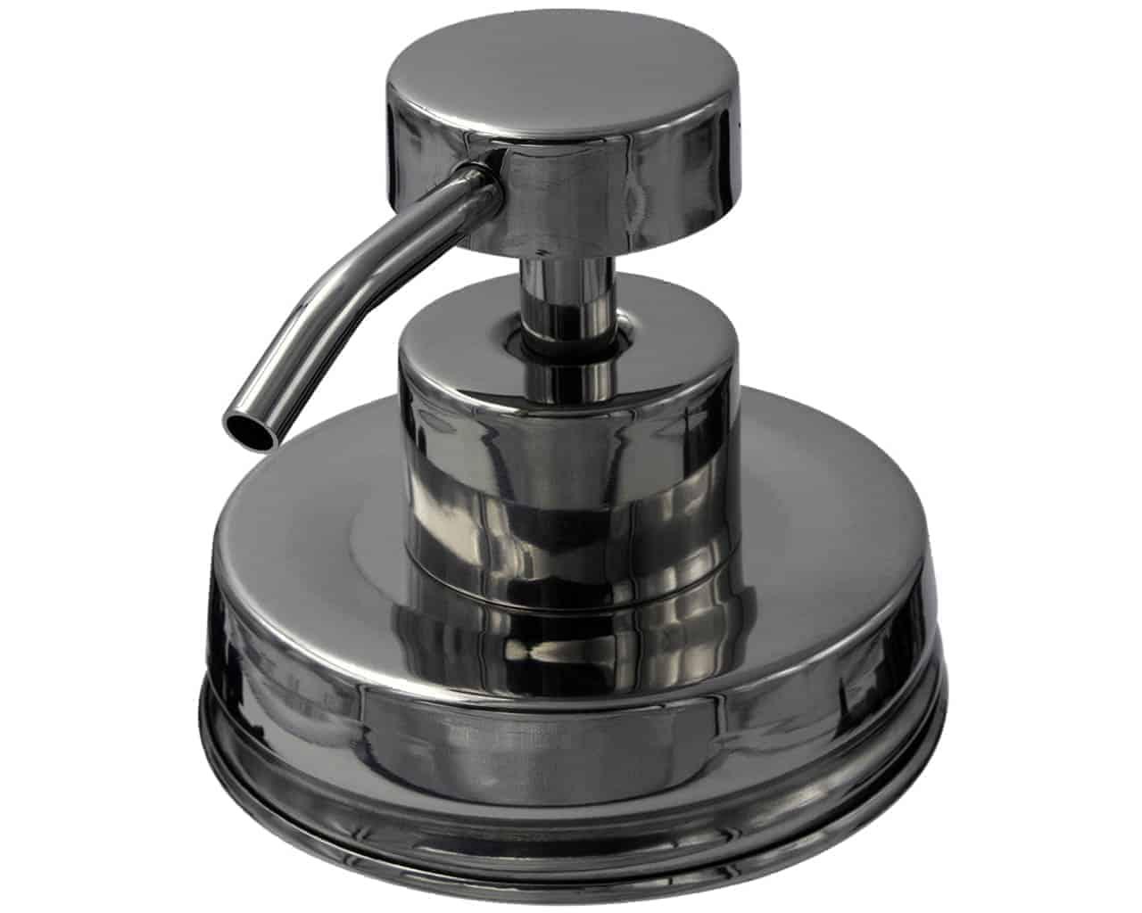 mason-jar-lifestyle-rust-proof-soap-lotion-pump-dispenser-lid-kit-mirror-chrome-2-regular-mouth-mason-jars