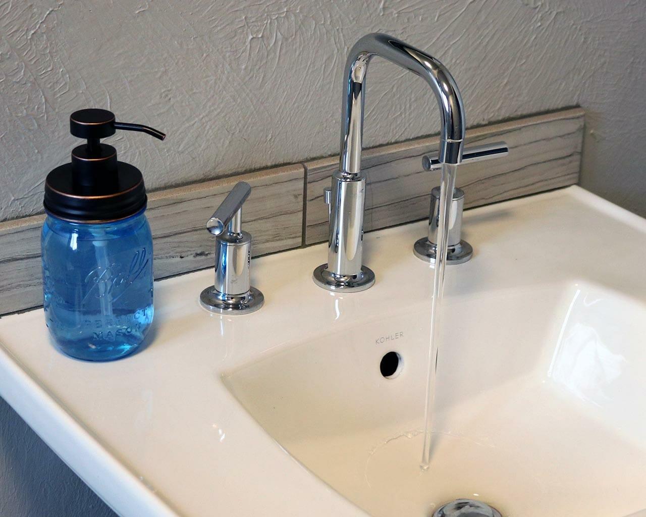 Kitchen Sink Faucet Soap Pump Dispenser Oil Rubbed Bronze