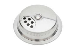 Jarware stainless steel spice shaker lid for Mason jars