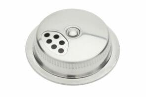 Jarware stainless steel spice shaker lid for Mason jars