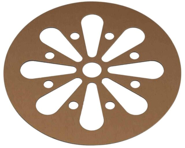 Mason Jar Lifestyle Copper daisy cutout lid for regular mouth Mason jars