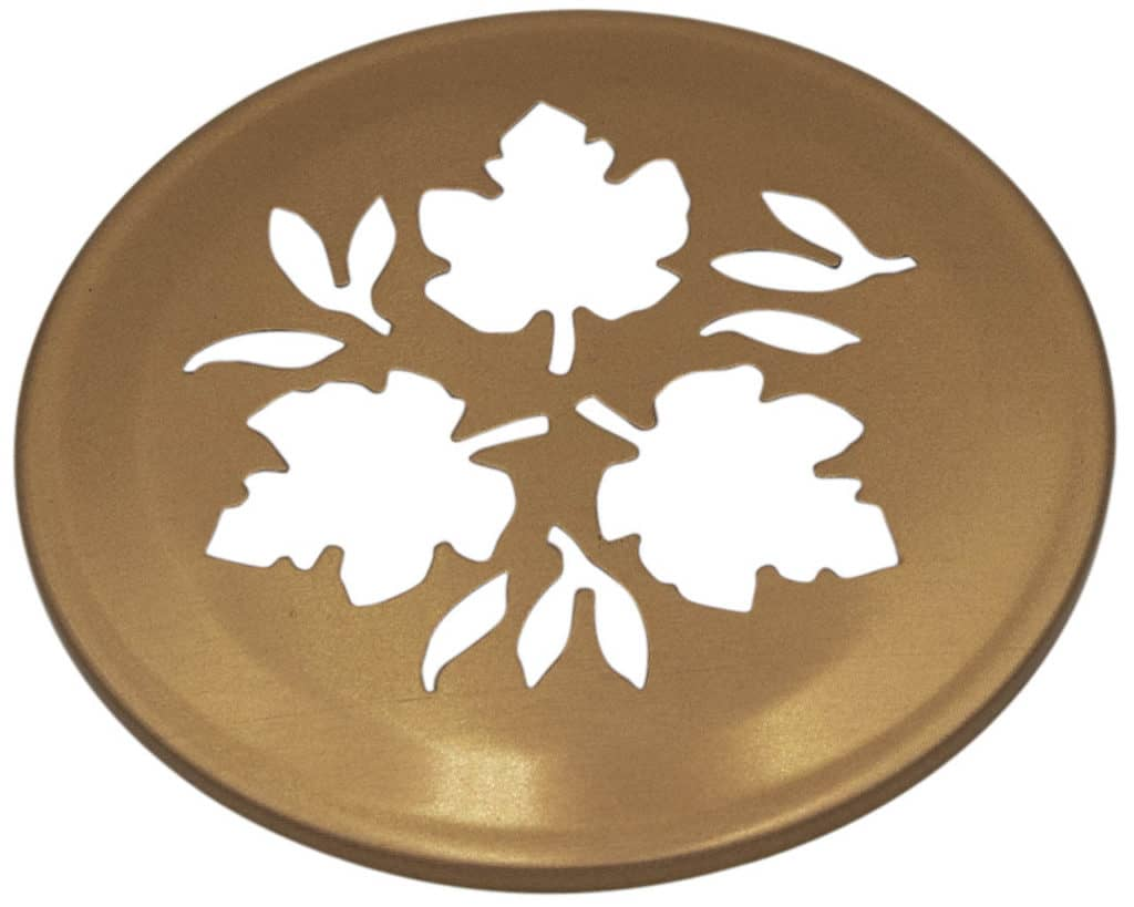 Mason Jar Lifestyle Copper leaf cutout lid for regular mouth Mason jars