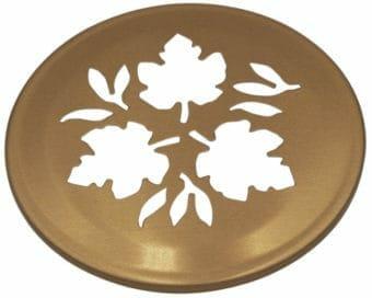 Mason Jar Lifestyle Copper leaf cutout lid for regular mouth Mason jars