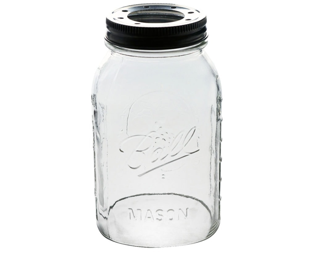 make-white-hand-cut-open-bottom-ball-mason-jar-quart-regular-mouth-lighting-lid-front-edit