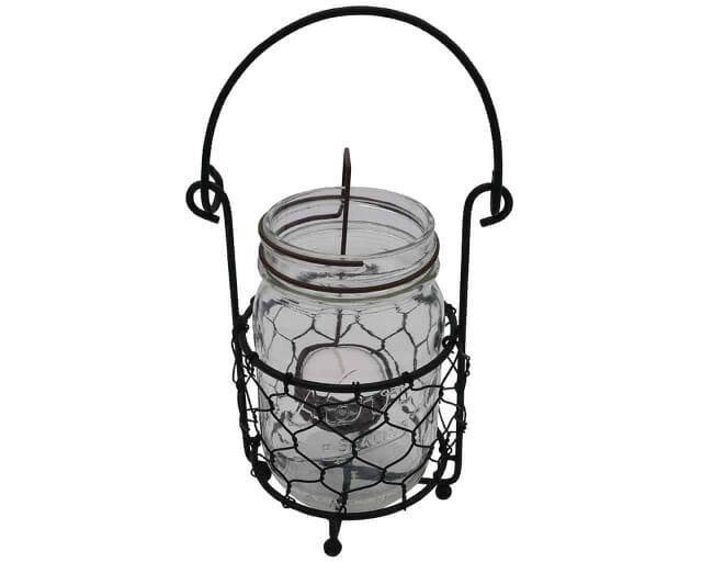 one-jar-caddy-carrying-holding-hanging-pint-16oz-mason-jar-chicken-wire-tea-light-holder-kerr