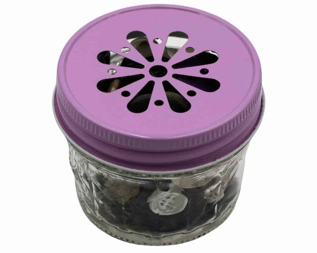 pink-daisy-lid-regular-mouth-4oz-mason-jar-made-in-usa-buttons