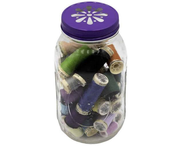 purple-daisy-lid-regular-mouth-quart-mason-jar-made-in-usa-thread