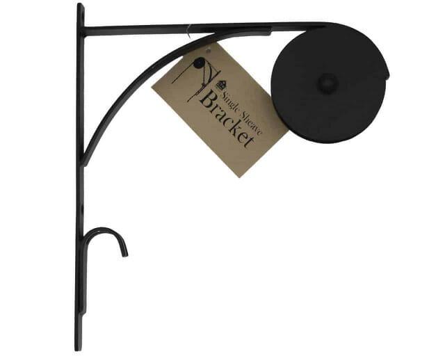 ctw-single-sheave-bracket-hang-pendant-light-wall-pulley-primitive-black