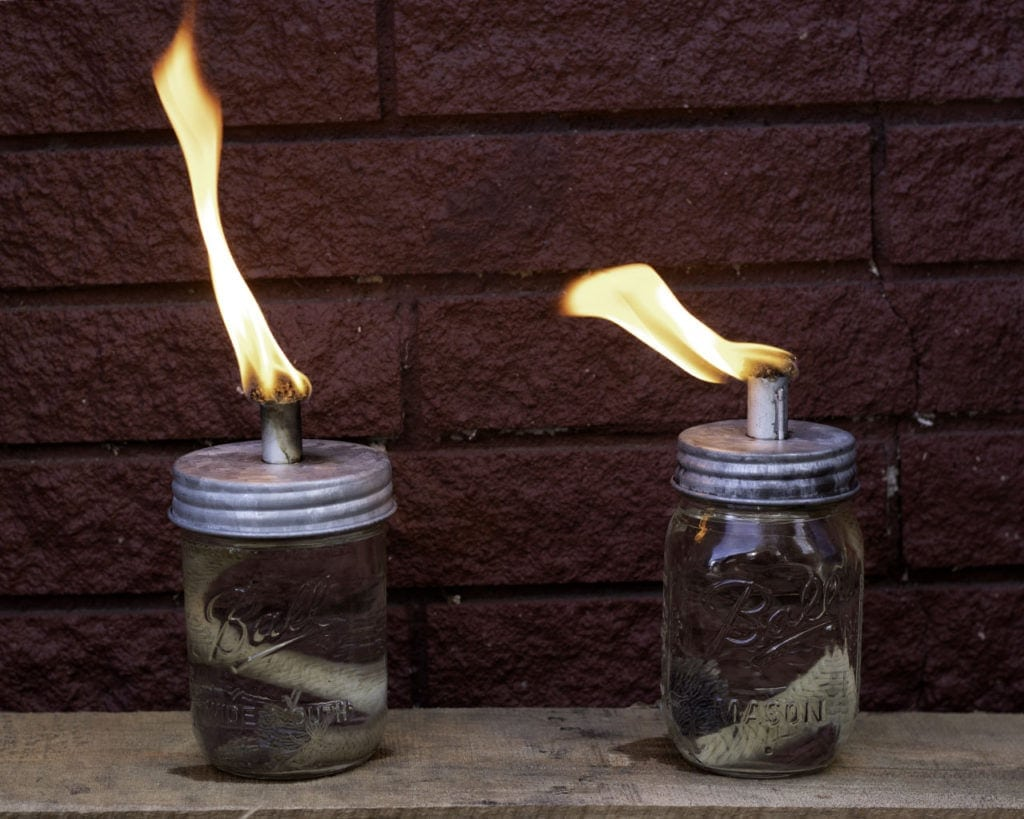 mason-jar-lifestyle-tikia-torch-oil-lamp-wick-lid-galvanized-metal-regular-wide-mouth-pint-ball-jars-red-brick-flame
