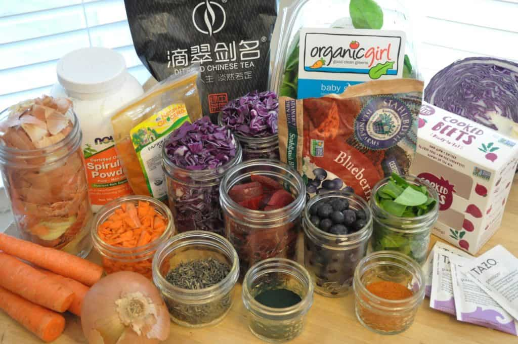 mason-jar-lifestyle-naturally-dyed-easter-eggs-using-everyday-food-carrots-beets-spinach-blueberries-red-cabbage-onion-peels-tea-spices