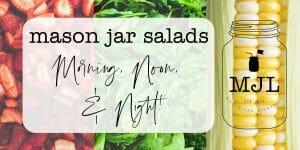 Mason Jar Salads Blog Header