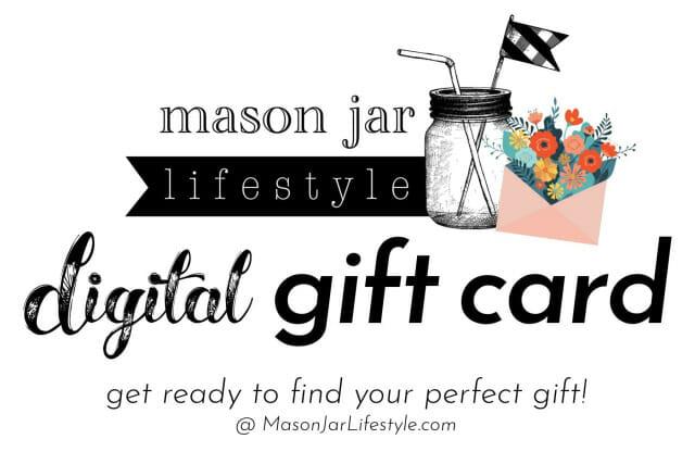 Mason Jar Lifestyle digital gift card