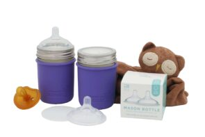 Mason Bottle nipple - Baby Bottle Starter Kit