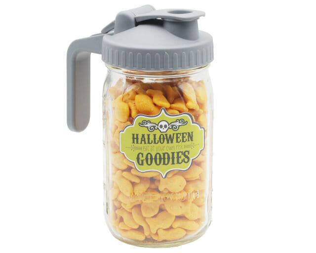 Halloween Goodies Label for Mason Jars by Jar Jewelry